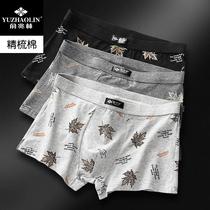 俞兆林男士透气内裤4条装+蛇圣石墨烯无线蓝牙耳机